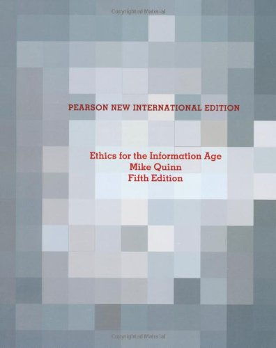 9781292025445: Ethics for the Information Age