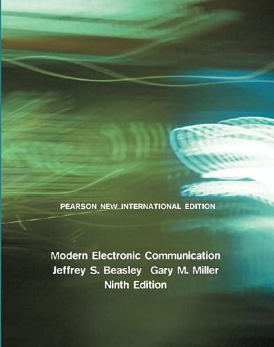 9781292025476: Modern Electronic Communication: Pearson New International Edition