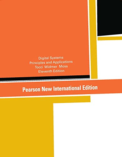 9781292025506: Digital Systems: Principles and Applications