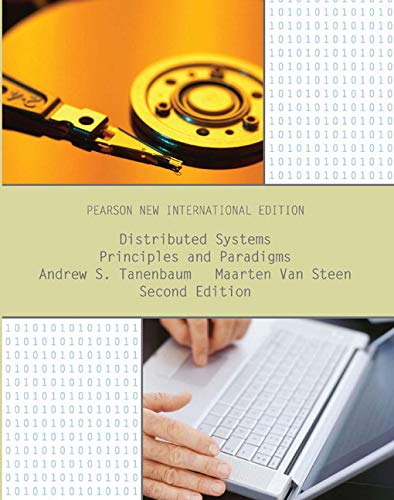 9781292025520: Distributed Systems: Pearson New International Edition: Principles and Paradigms