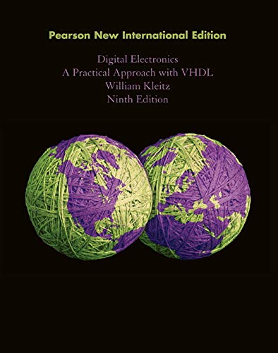 9781292025612: Digital Electronics: A Practical Approach with VHDL
