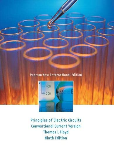 9781292025667: Principles of Electric Circuits: Pearson New International Edition: Conventional Current Version