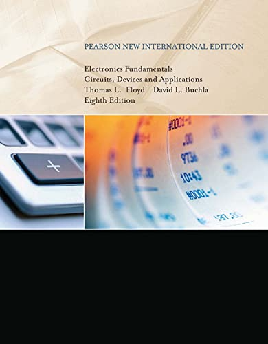 9781292025681: Electronics Fundamentals: Pearson New International Edition Circuits, Devices and Applications