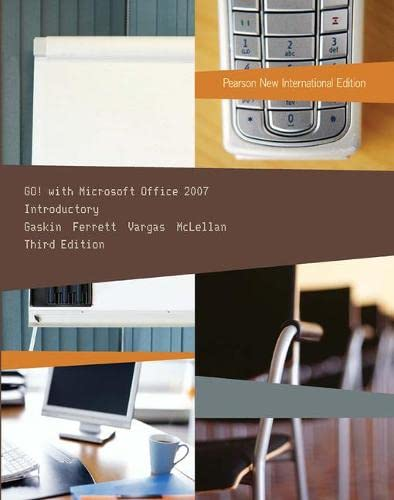 9781292025872: Go! with Microsoft Office 2007 Introductory