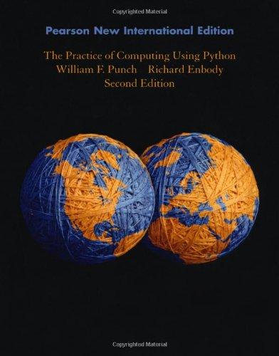 9781292025933: The Practice of Computing Using Python