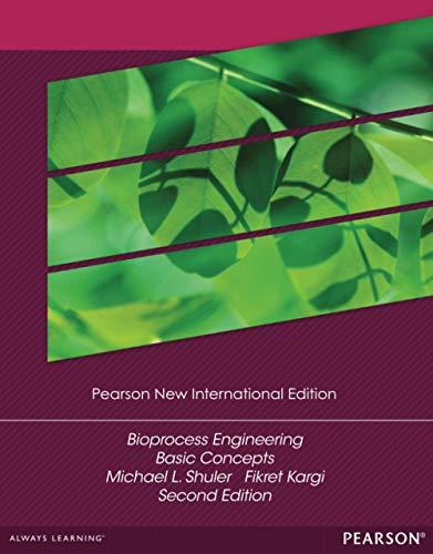 9781292025995: Bioprocess Engineering: Pearson New International Edition: Basic Concepts