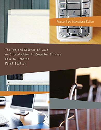9781292026039: Art and Science of Java, The: Pearson New International Edition