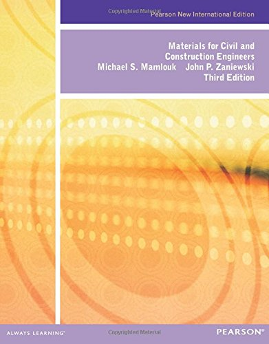 9781292026053: Materials for Civil and Construction Engineers