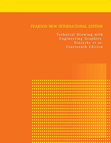 9781292026183: Technical Drawing with Engineering Graphics: Pearson New International Edition