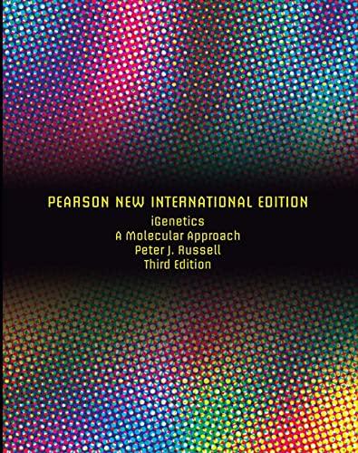 9781292026336: IGenetics: A Molecular Approach