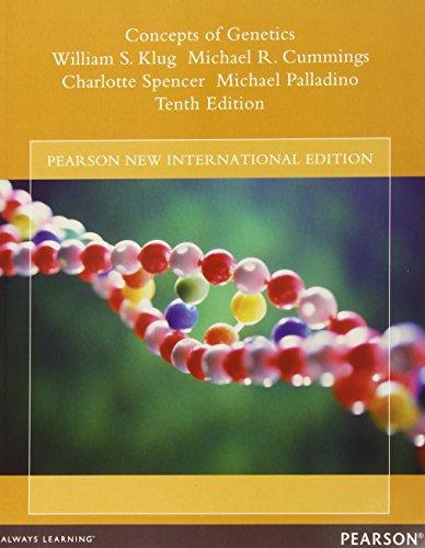 Pdf klug concepts genetics of