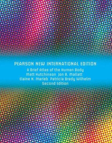 9781292026404: Brief Atlas of the Human Body, A (ValuePack Only): Pearson New International Edition