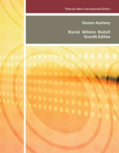 HUMAN ANATOMY, 7TH EDITION by MARIEB ELAINE N. ET.AL: 9781292026466 ...