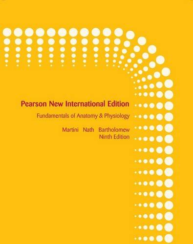 9781292026480: Fundamentals of Anatomy & Physiology