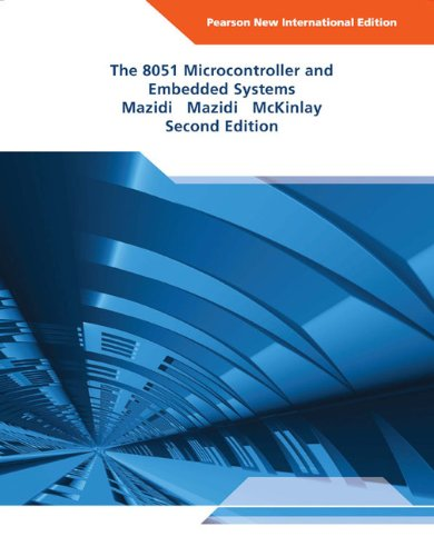 9781292026572: The 8051 Microcontroller and Embedded Systems