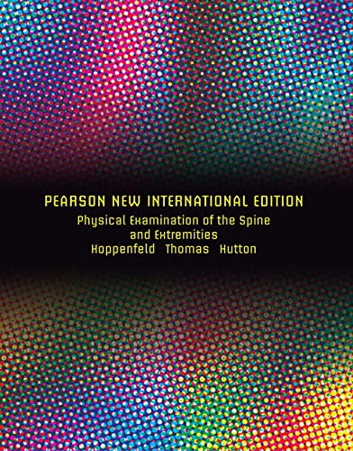9781292026626: Physical Examination of the Spine and Extremities: Pearson New International Edition