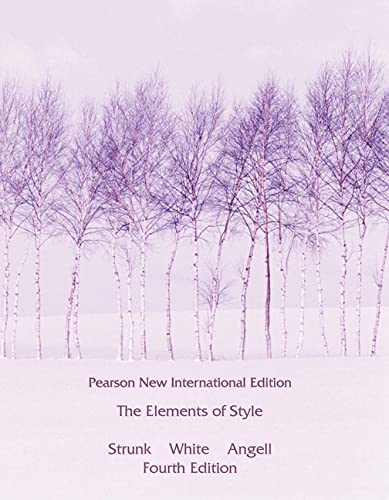 9781292026640: Elements of Style, The: Pearson New International Edition