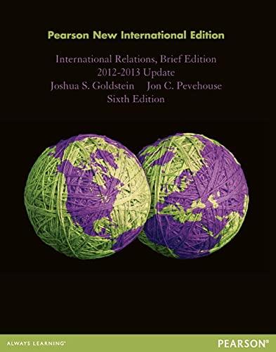 9781292026930: International Relations, Brief Edition, 2012-2013 Update: Pearson New International Edition