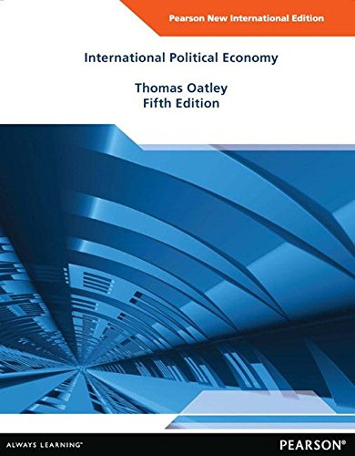9781292026961: International Political Economy: New International Edition