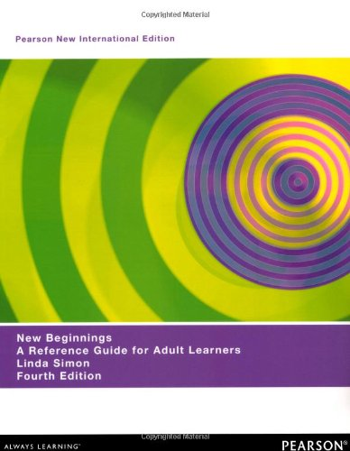 9781292026992: New Beginnings: A Reference Guide for Adult Learners