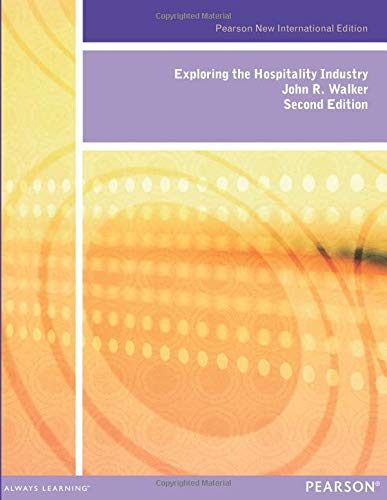 9781292027005: Exploring the Hospitality Industry