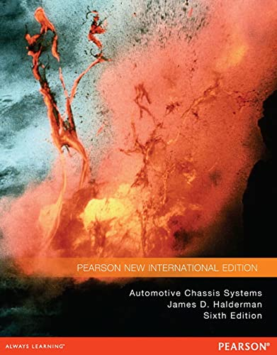 9781292027067: Automotive Chassis Systems: Pearson New International Edition