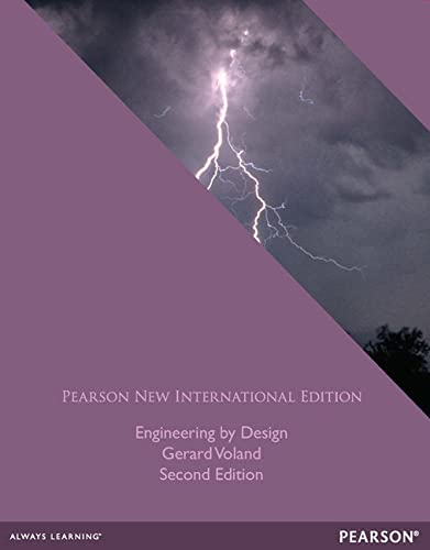9781292027104: Engineering by Design: Pearson New International Edition