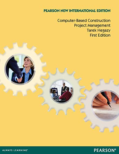 9781292027128: Computer-Based Construction Project Management: Pearson New International Edition