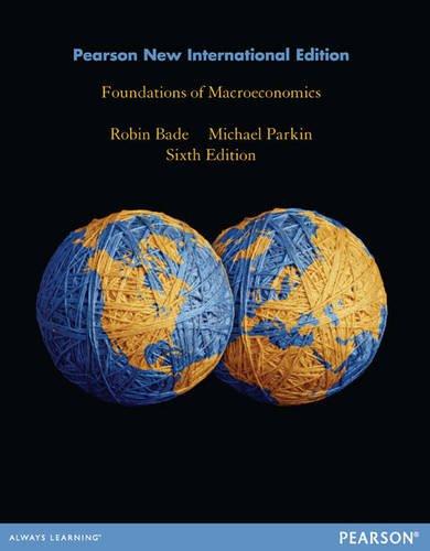 9781292027227: Foundations of Macroeconomics: Pearson New International Edition