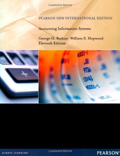 9781292027234: Accounting Information Systems