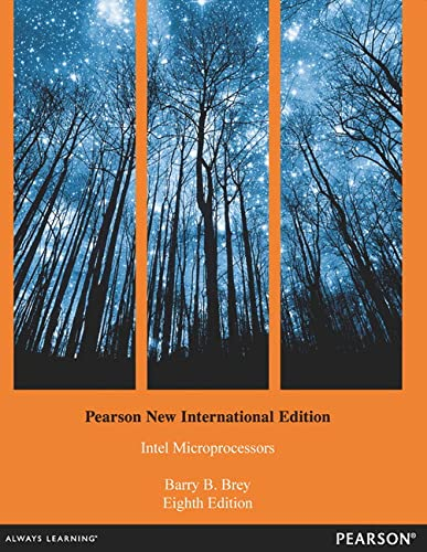 9781292027371: The Intel Microprocessors: Pearson New International Edition