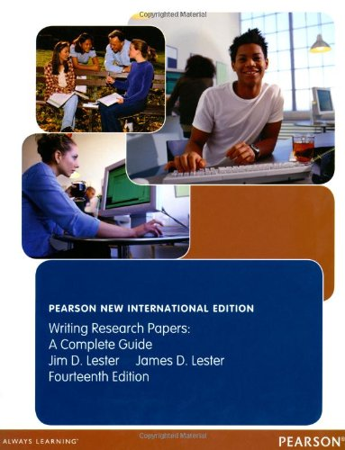 9781292027494: Writing Research Papers: A Complete Guide