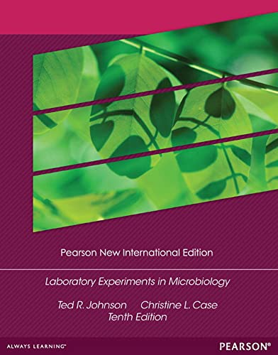 9781292027500: Laboratory Experiments in Microbiology: Pearson New International Edition
