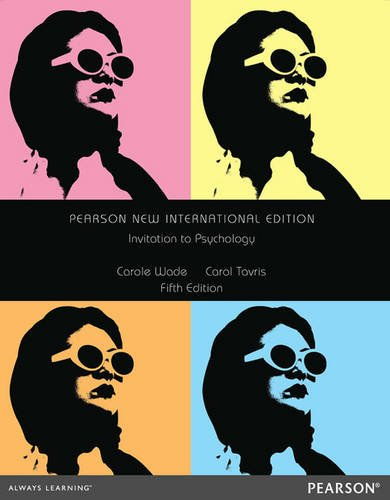 9781292027562: Invitation to Psychology