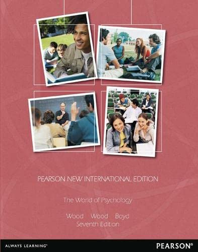 9781292027579: The World of Psychology: Pearson New International Edition