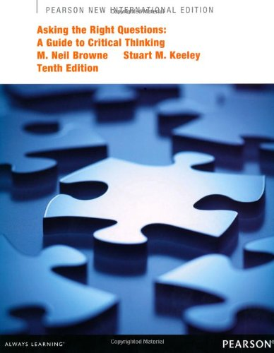 9781292027609: Asking the Right Questions: A Guide to Critical Thinking