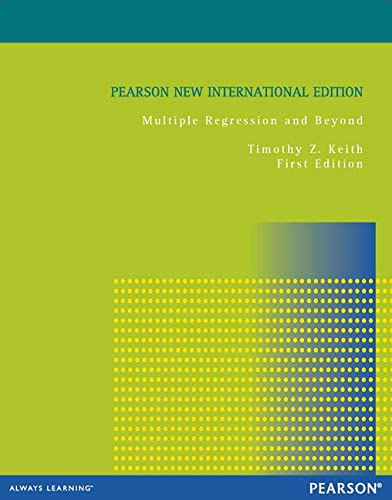 9781292027654: Multiple Regression and Beyond: Pearson New International Edition