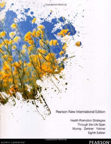 9781292027753: Health Promotion Strategies Through the Life Span