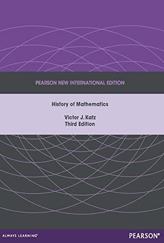 9781292027784: A History of Mathematics: Pearson New International Edition