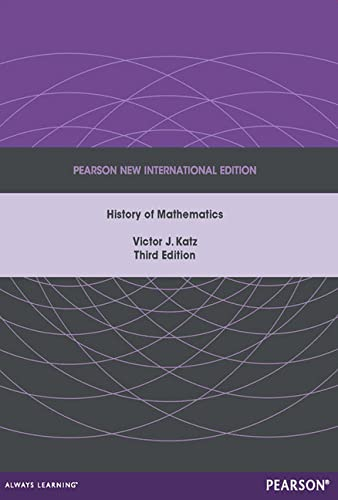 9781292027784: A History of Mathematics: Pearson New International Edition