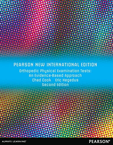 9781292027968: Orthopedic Physical Examination Tests: Pearson New International Edition:An Evidence-Based Approach