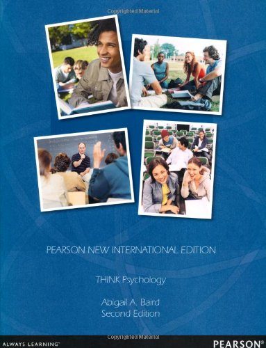 9781292039060: THINK Psychology: Pearson New International Edition
