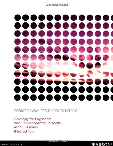 9781292039107: Geology for Engineers and Environmental Scientists:Pearson New International Edition