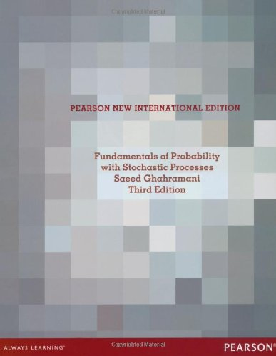 9781292039121: Fundamentals of Probability, with Stochastic Processes
