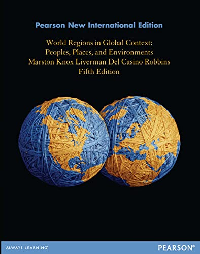 9781292039138: World Regions in Global Context: Pearson New International Edition: Peoples, Places, and Environments