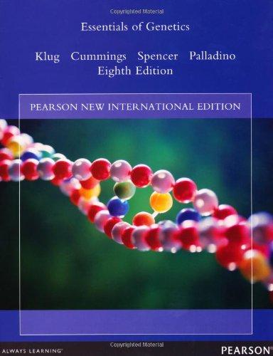 9781292039220: Essentials of Genetics