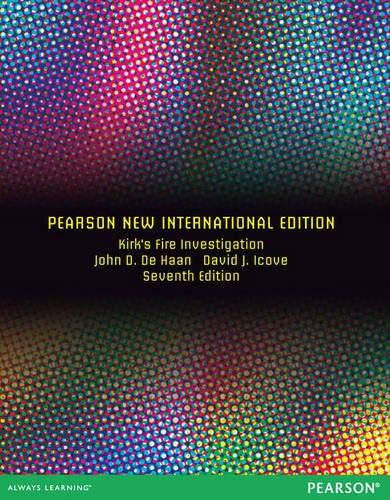 9781292039268: Kirk's Fire Investigation: Pearson New International Edition