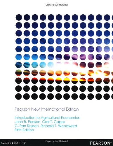 9781292039275: Introduction to Agricultural Economics: Pearson New International Edition