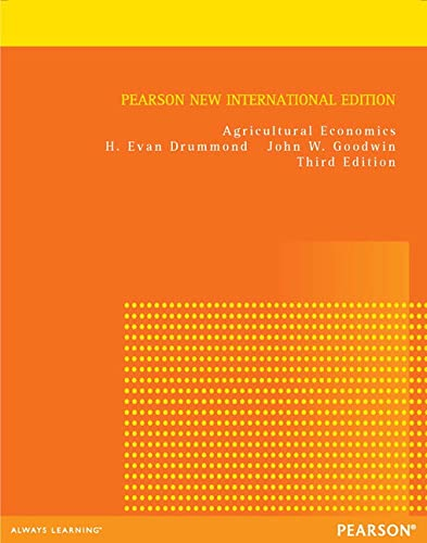 9781292039282: Agricultural Economics: Pearson New International Edition