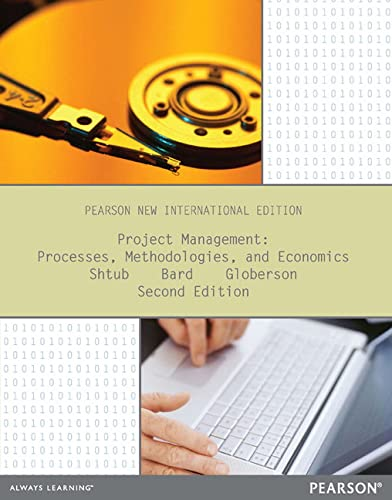 9781292039404: Project Management: Pearson New International Edition: Processes, Methodologies, and Economics